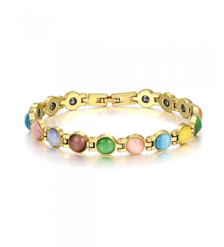 Magnetic Therapy Bracelets Relief Multicolored