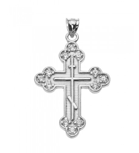 Sterling Silver Eastern Orthodox Pendant