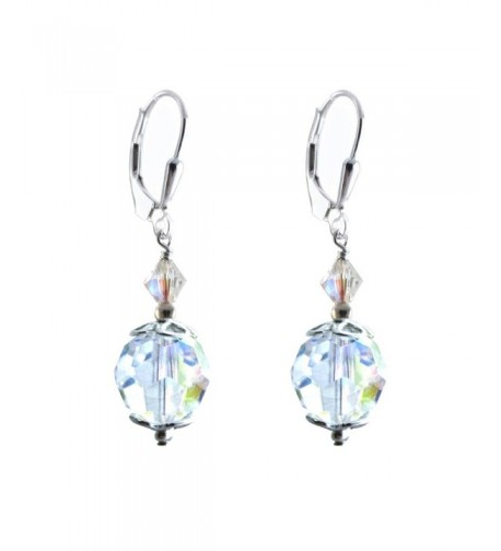 Earrings Swarovski Crystal Elements Lever back