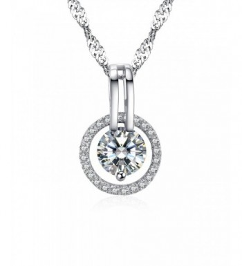 Arieanna Sterling Guardian Swarovski Necklace