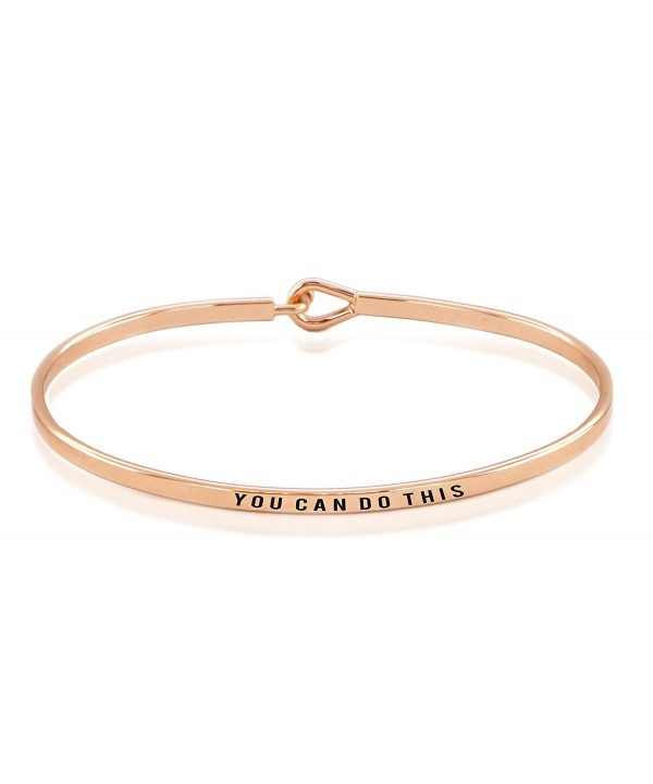 Hypoallergenic Surgical Rhodium Inspiration Bangle