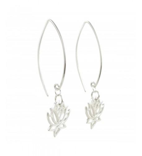 Design Flower Earrings Sterling 8373