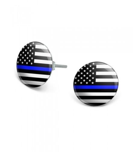 American Novelty Silver Plated Earrings