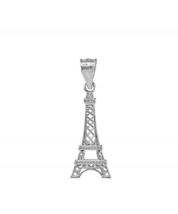 Sterling Silver Eiffel Tower Pendant