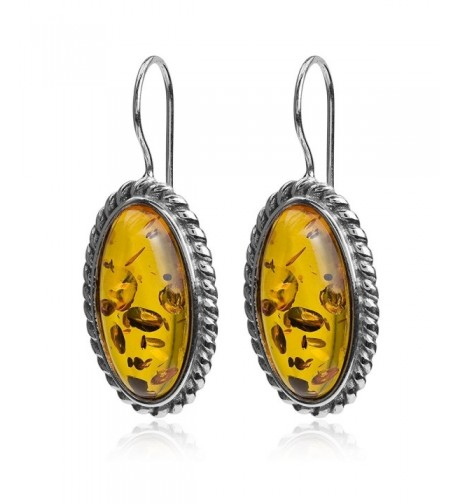Honey Sterling Silver Classic Earrings