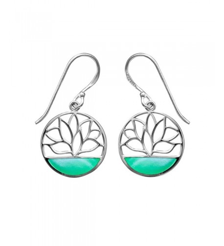Boma Sterling Silver Mother Earrings