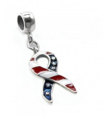 Sterling Silver American Ribbon European