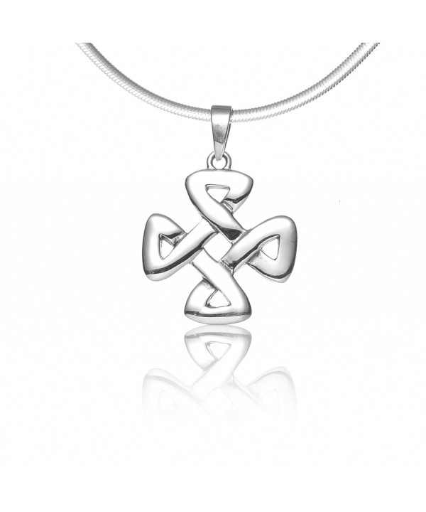 Sterling Silver Strength Pendant Necklace