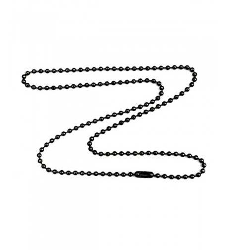 Gunmetal Plated Necklace Durable Protect