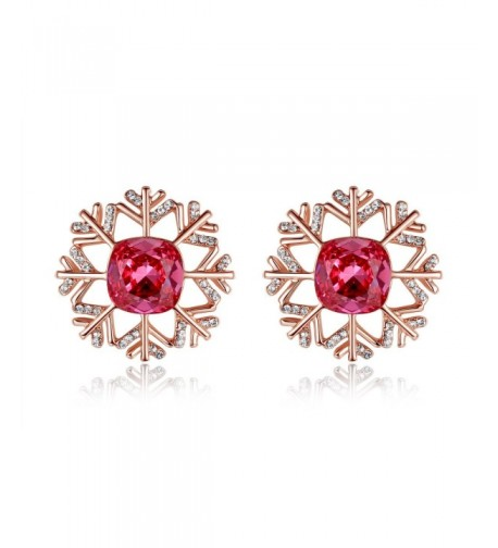 Kemstone Crystals Zirconia Pierced Earrings