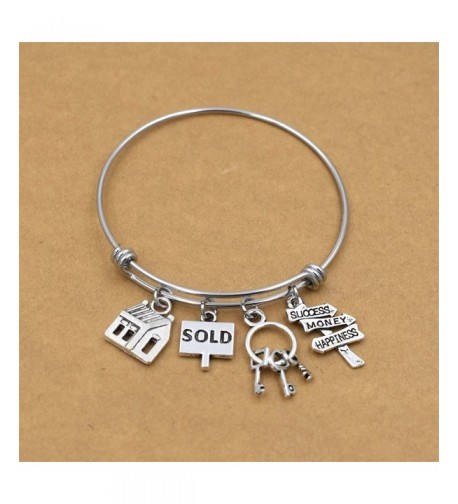 Stainless Expandable Bracelets Realtor Jewelry