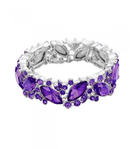 Rosemarie Collections Fashion Marquise Bracelet