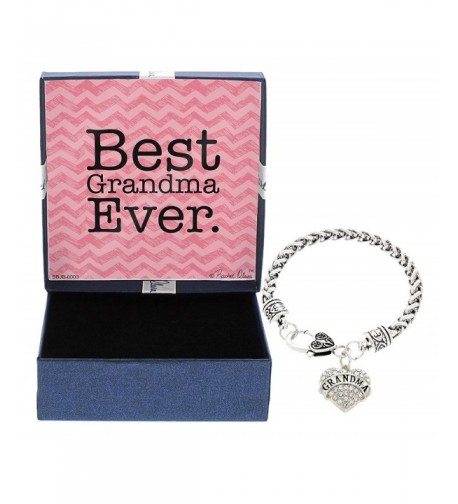 Gift Jewelry Silver Tone Christmas Grandmother