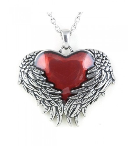 Controse Silver Toned Stainless Guarded Necklace
