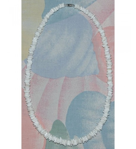 Native Treasure Polished White Necklace