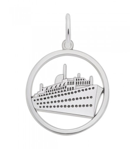 Rembrandt Charms Cruise Sterling Engravable