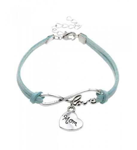 ISHOW Handmade Infinity Bracelet Mothers