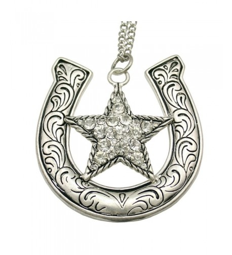 Fashion Western Cowgirl Shooting Necklace