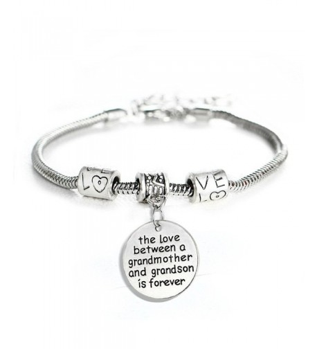 between Grandmother Grandson Forever Bracelet
