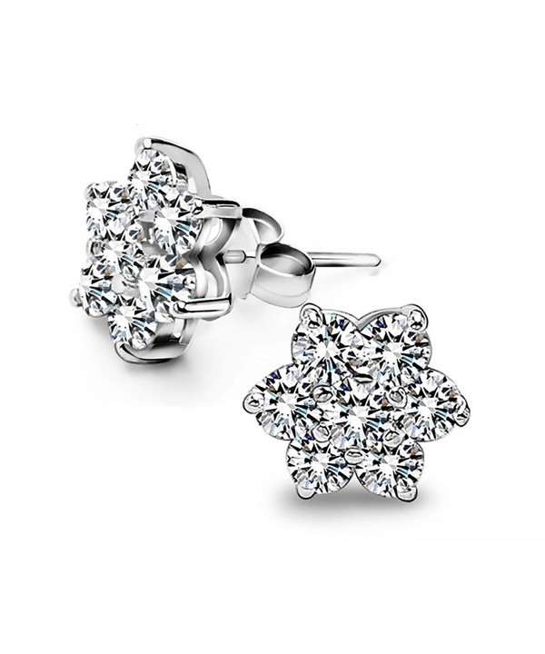 Christmas Sterling Silver Snowflake Dazzling