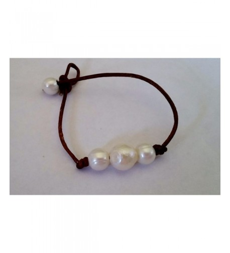 Quality Organic Leather Handcrafted Bracelet