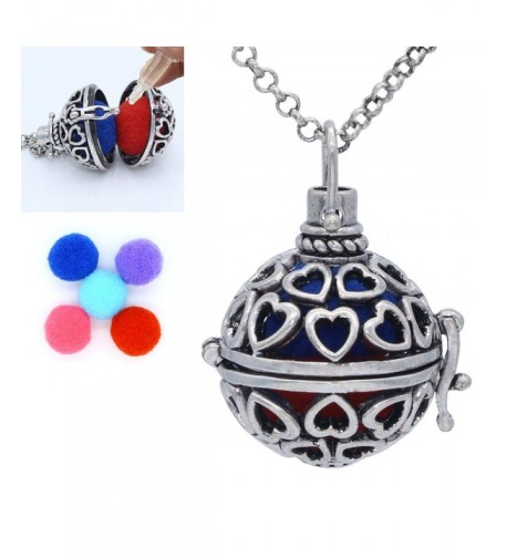 Antique Essential Diffuser Necklace Aromatherapy