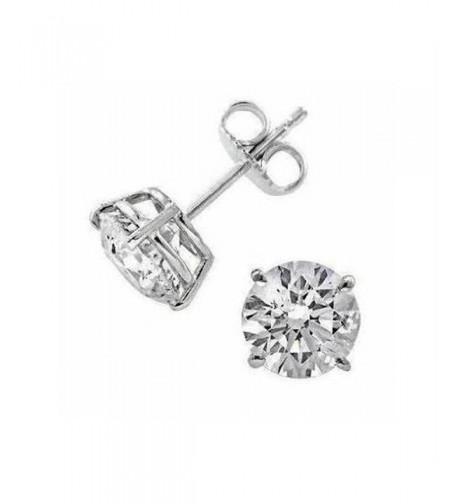Sterling Silver Plated Earrings Zirconia