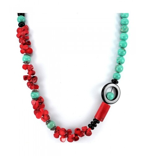 Ny6design Magnesite Turquoise Necklace N5040304e
