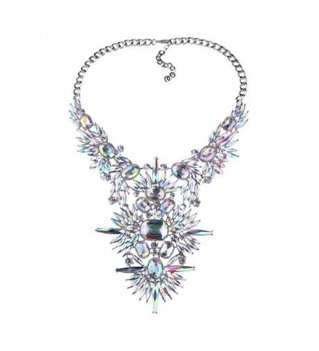 Statement Necklace Stunning Crystal NABROJ