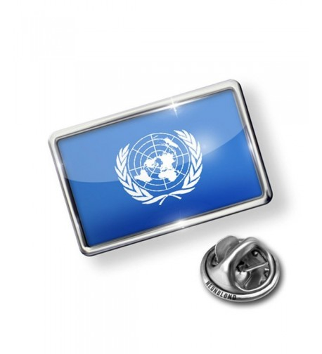 Pin United Nations Flag NEONBLOND