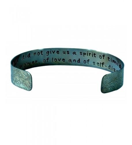 Spirit Timidity Antiqued Distressed Bracelet
