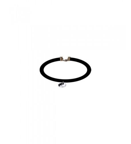 Velvet Design Choker Necklaces Charm