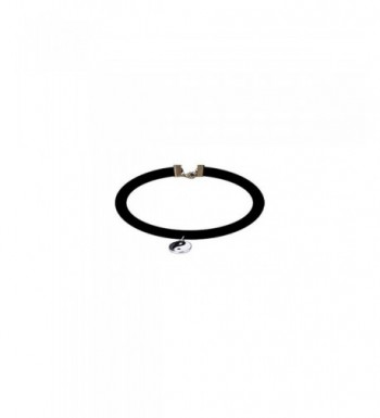 Velvet Design Choker Necklaces Charm