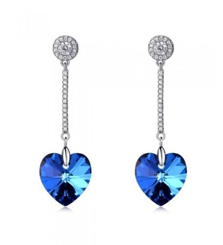 LadyRosian Sterling Silver Dangle Earrings