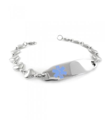 MyIDDr Pre Engraved Customized Bariatric Bracelet