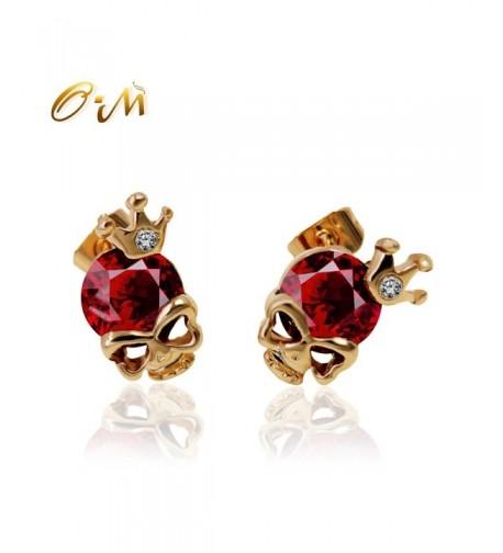 Onairmall Diamond Skeleton Earrings Fashion