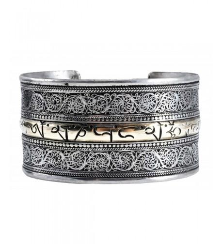 Tibetan Om Meditation Mantra Bracelet