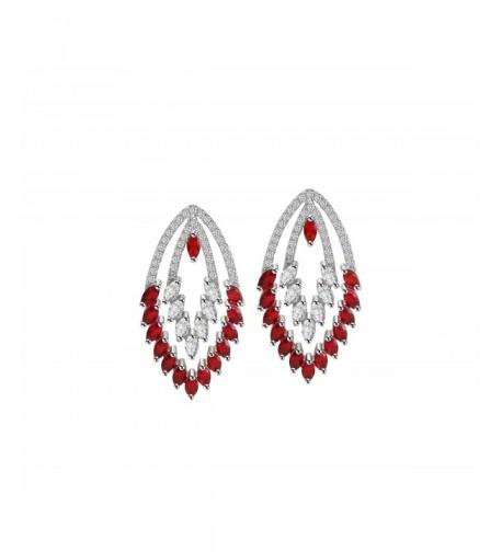 OKIKO Earrings Swarovski Platinum Plated Chandelier