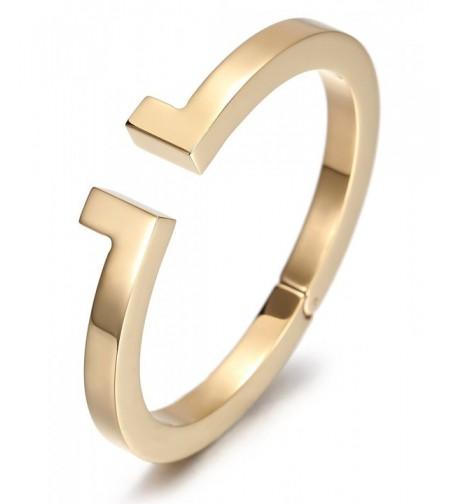 Stainless Steel Plated Bangle Bracelet
