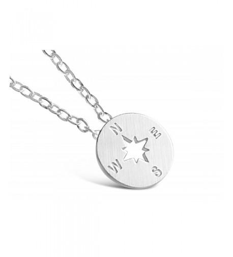 Rosa Vila Compass Necklace Direction