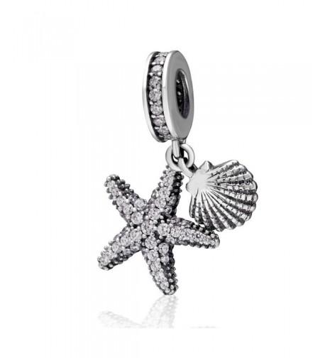 Choruslove Tropical Starfish Dangle Bracelet
