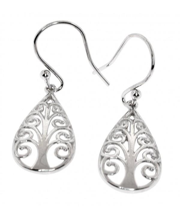 Sterling Silver Symbolic Earrings Pattern