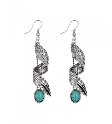Turquoise Earrings Synthetic Necklace Bracelet