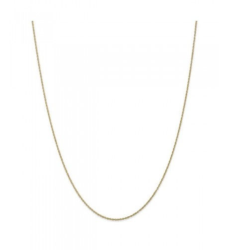 Gold Lite Baby Chain Necklace Inches
