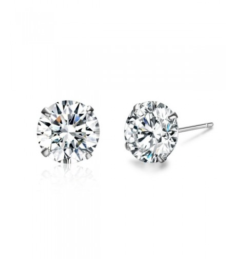 SBLING Platinum Sterling Earrings Swarovski