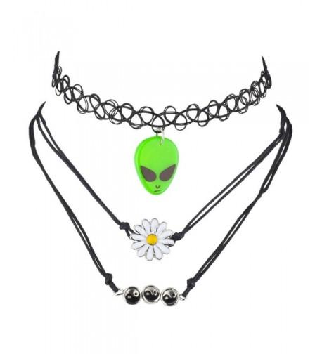 Lux Accessories Hippie Novelty Choker