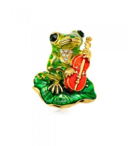 Alilang Golden Emerald Colored Rhinestones