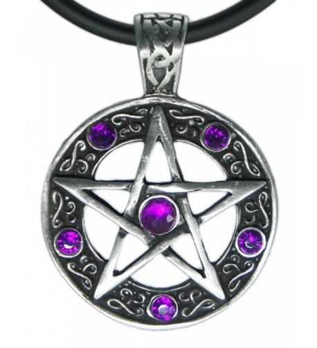 Exoticdream Pentagram Pentacle Pendant Necklace