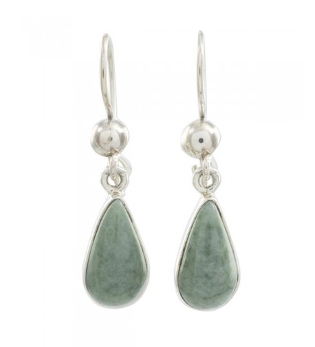 NOVICA Sterling Silver Teardrop Earrings