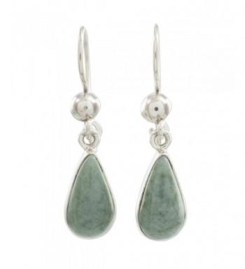 NOVICA Sterling Silver Teardrop Earrings